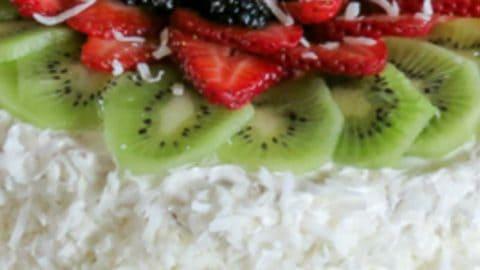 Phenomenal Layered Sponge Cake Recipe With Fruits Valentinas Corner Funny Birthday Cards Online Overcheapnameinfo