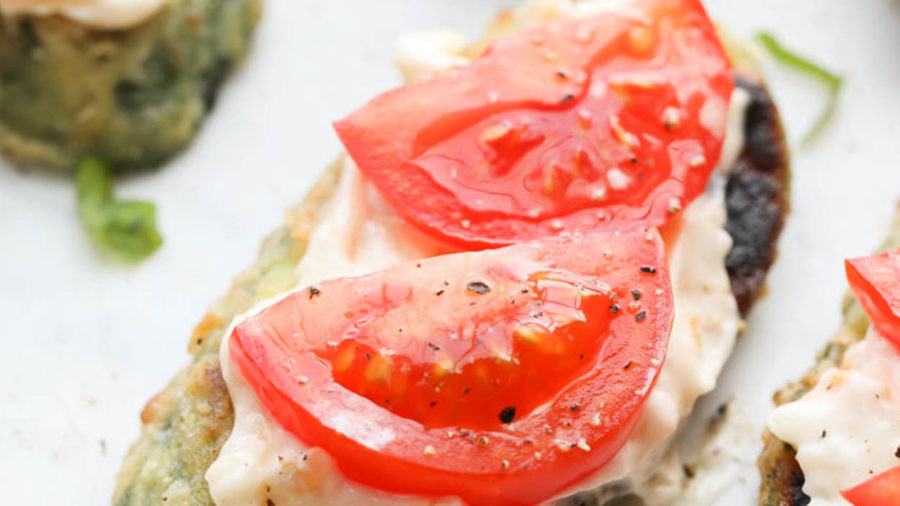Fried Zucchini and Tomato Recipe.