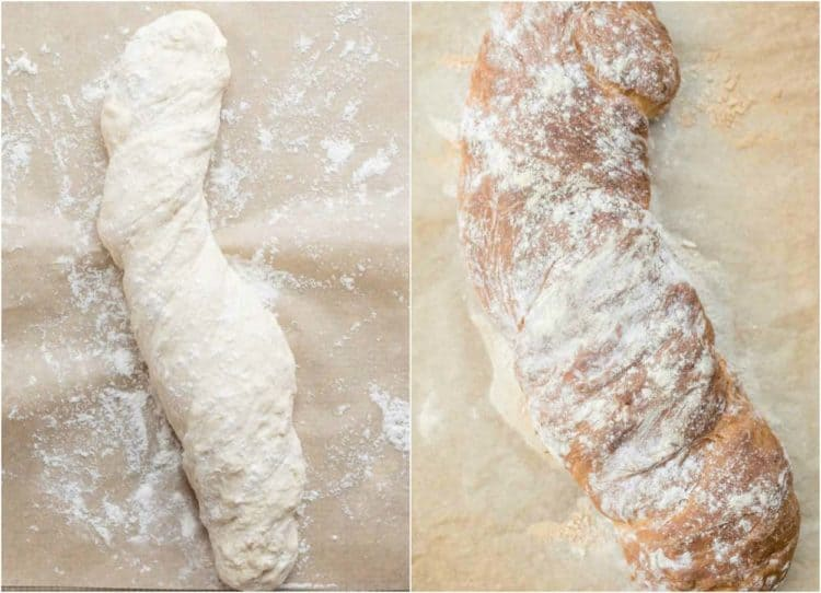 How to rise and bake Russian bread load.