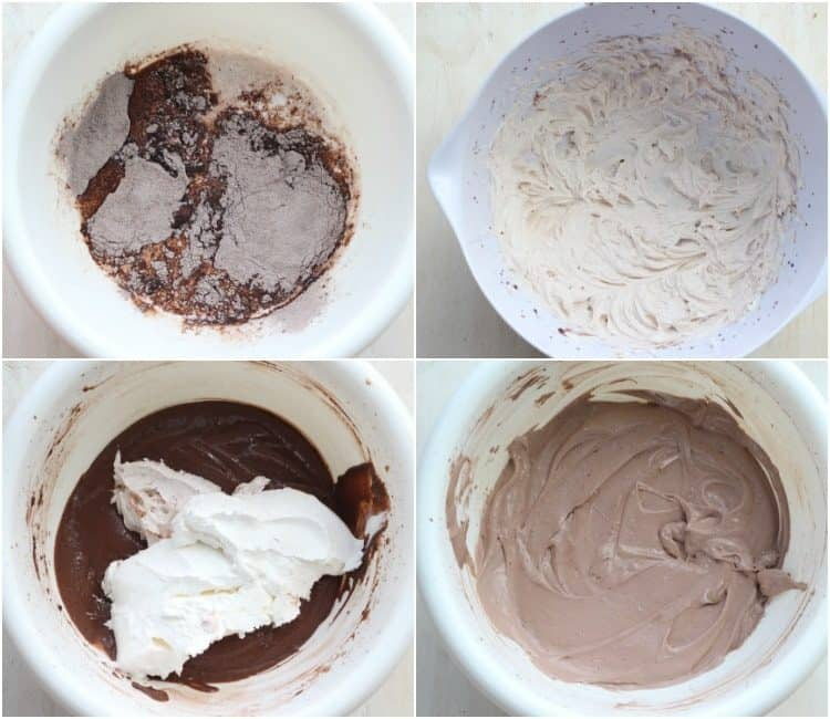 How to make chocolate Oreo pudding recipe with instant pudding and milk.