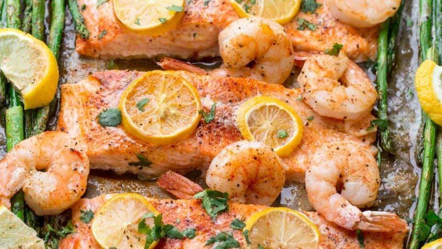 Baked Shrimp Salmon Recipe