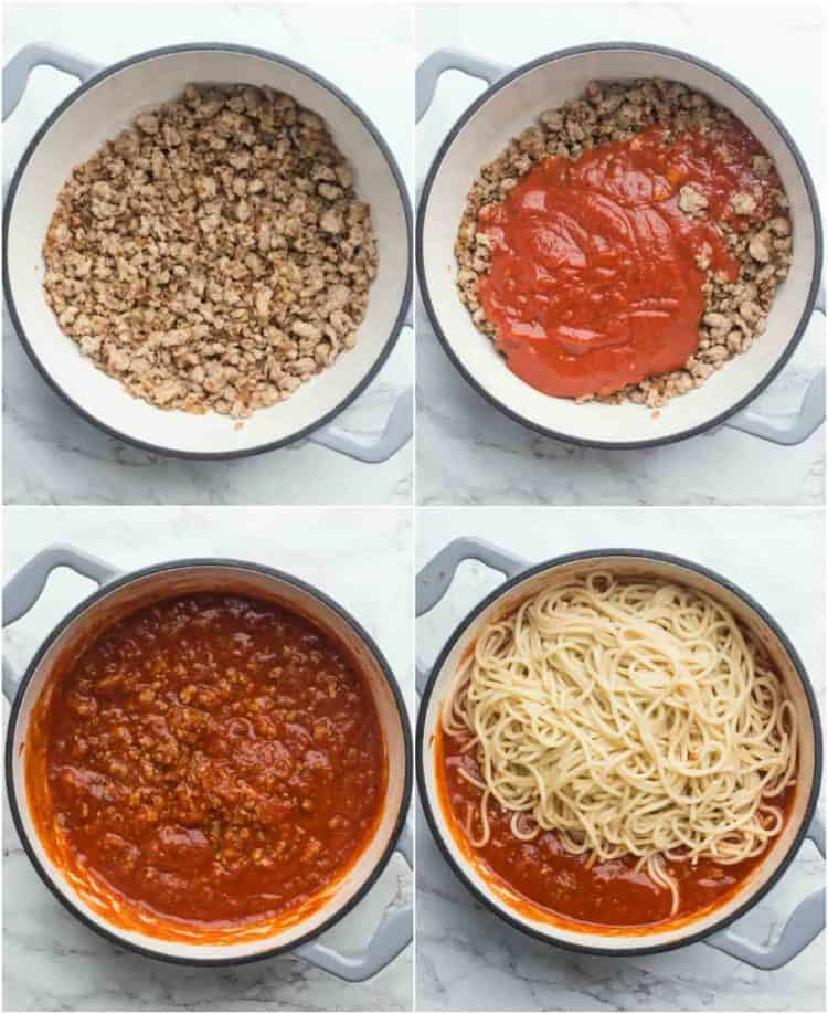 How to make spaghetti. Simple and delicious easy meaty spaghetti recipe.
