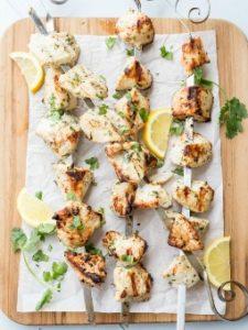 Grilled Chicken Kabobs. ValentinasCorner.com