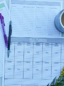 Menu Planning, ValentinasCorner.com