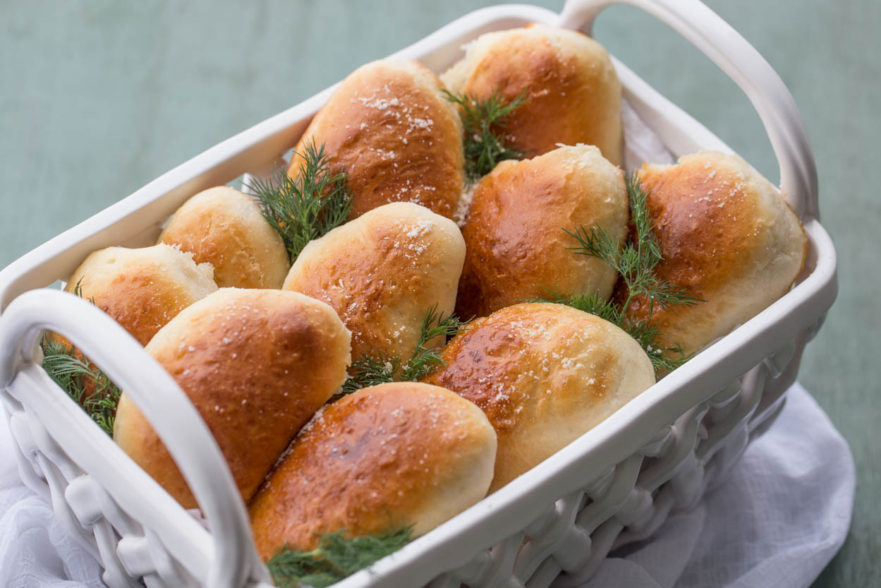 Piroshki with Cheese Potato Filling