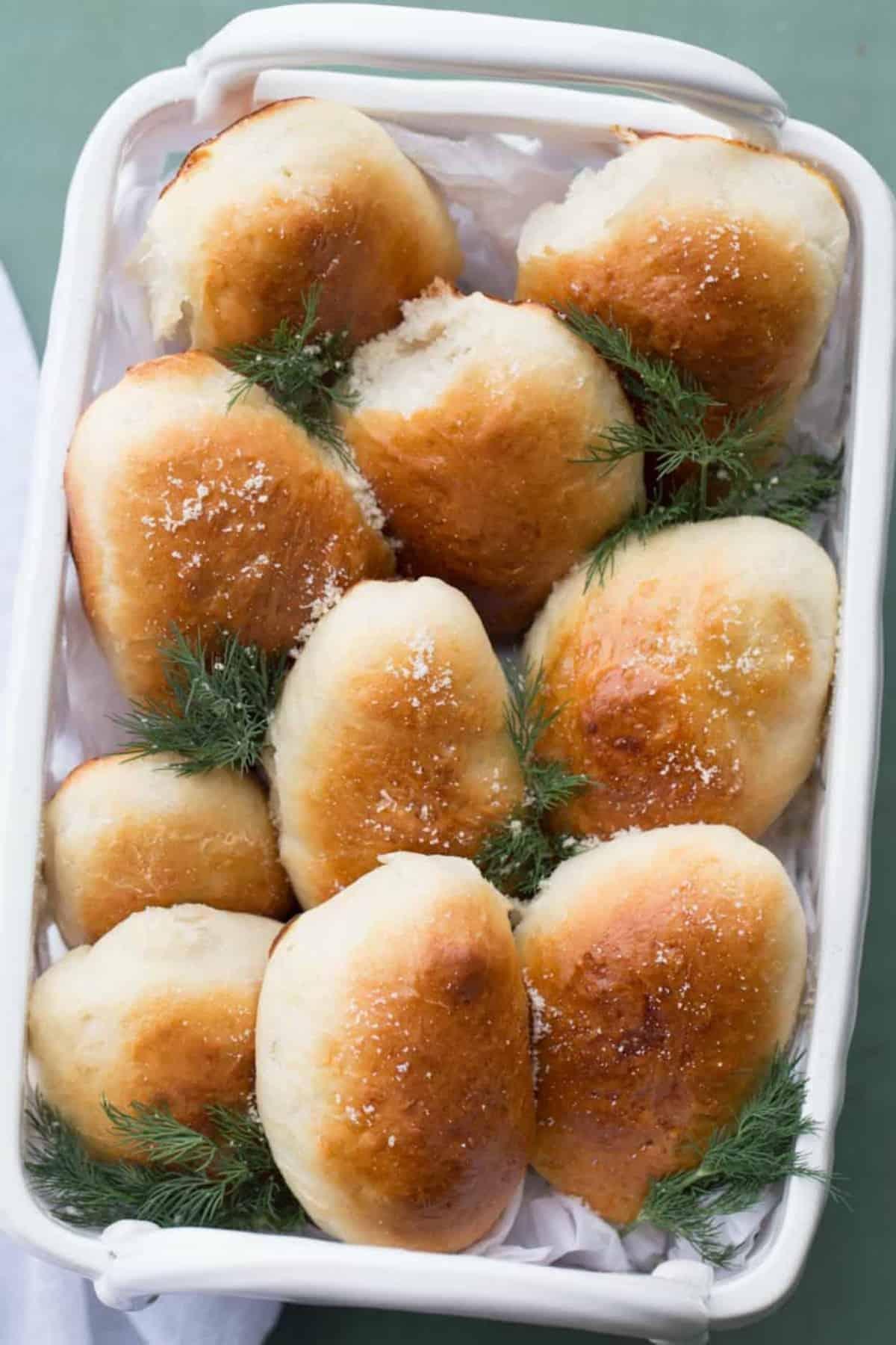 Piroshki with Cheese Potatoes