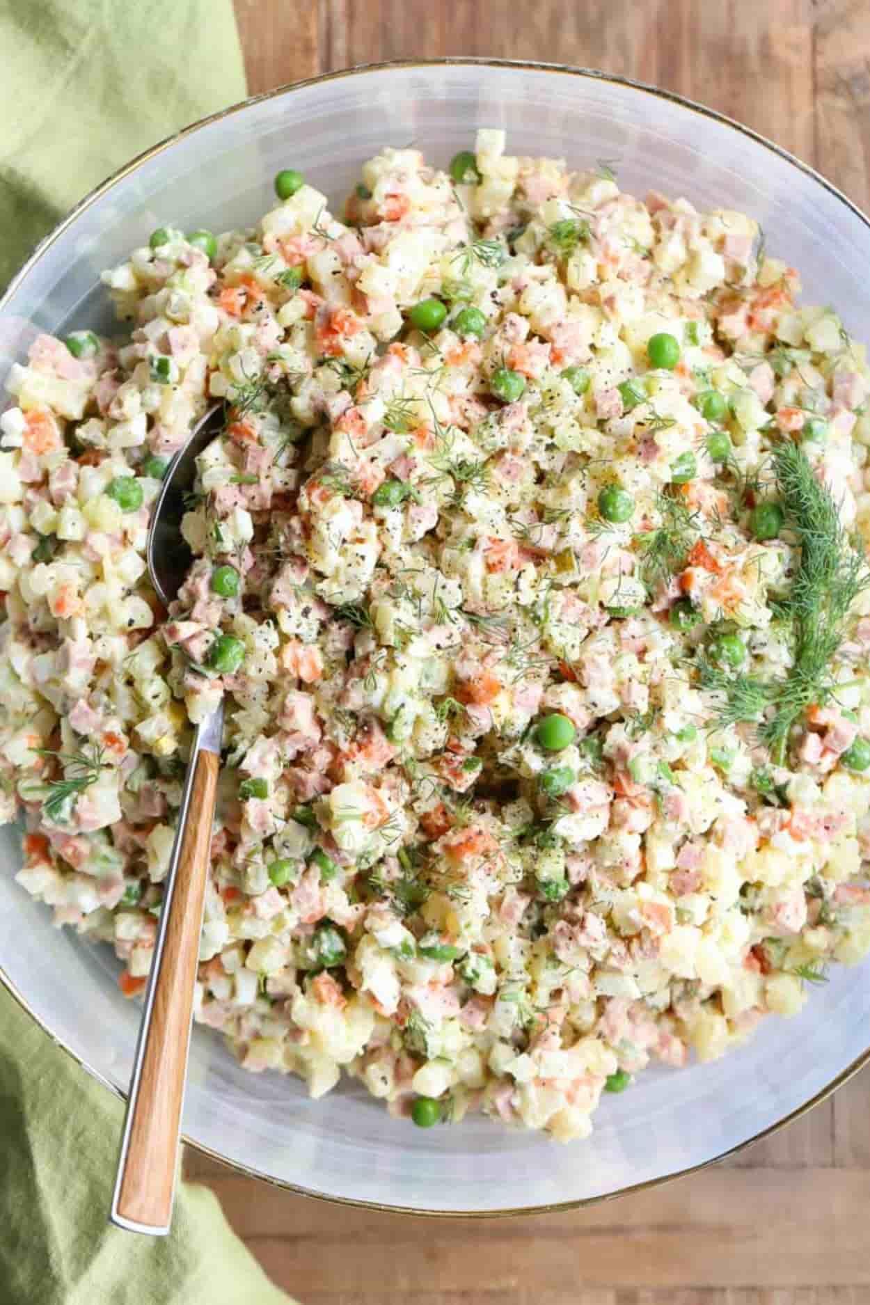 Olivier Salad Recipe Russian Potato Salad