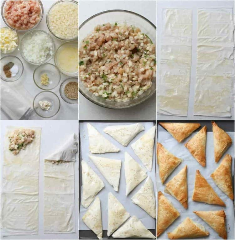Step by step instruction on how to make Uzbek Samsa recipe.