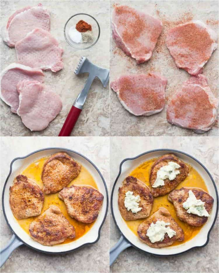 How to cook pork chops. How to prepare, seasoned and cook the porkchops.