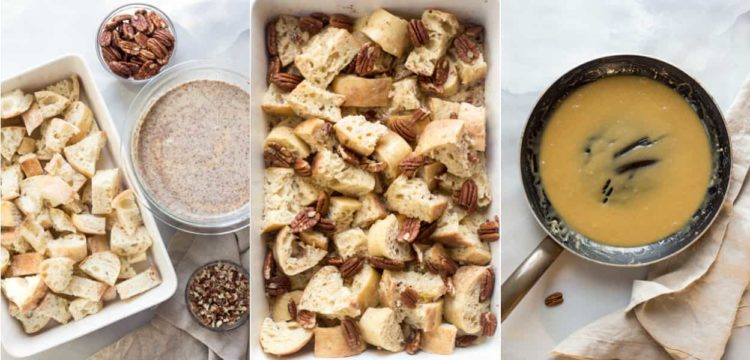 Recipe for how to make French toast into a casserole.