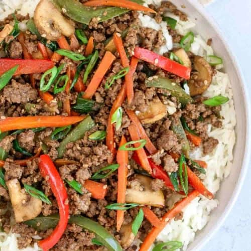 Ground Beef Stir Fry Valentina S Corner