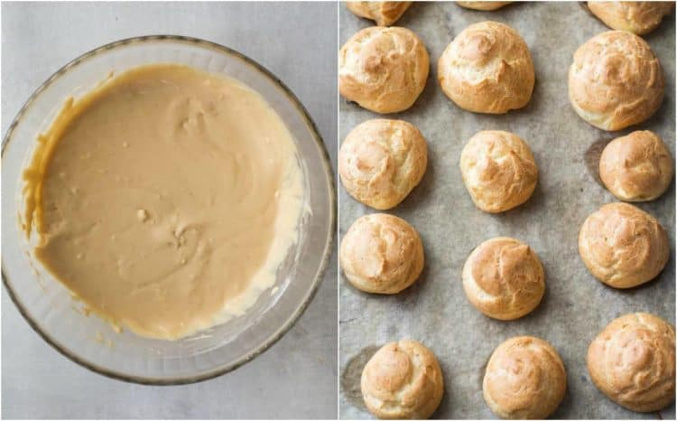 How to make cream puffs from scratch. How to make choux pastry for this classic cream puff recipe.