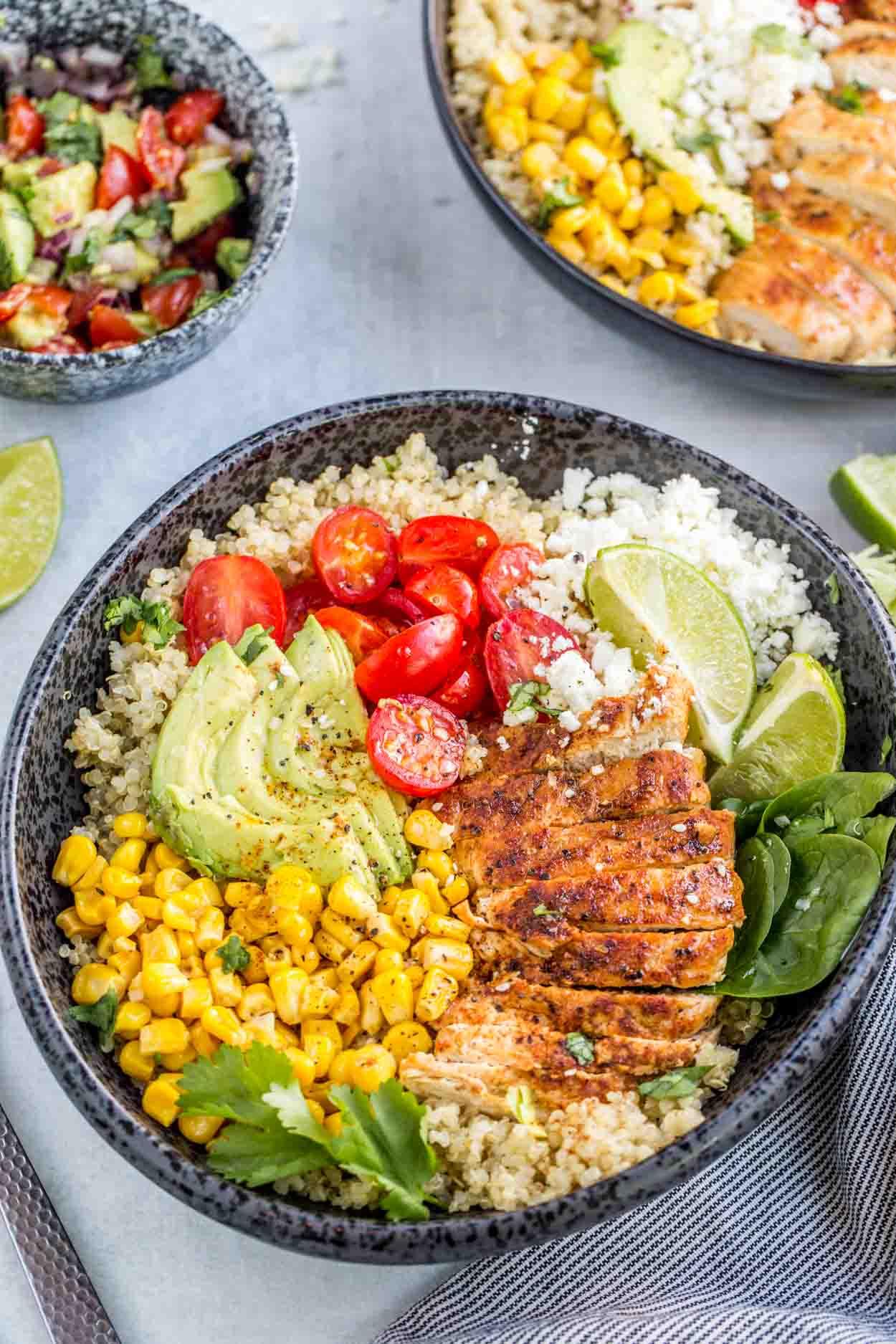 Chicken Quinoa Bowl Recipe