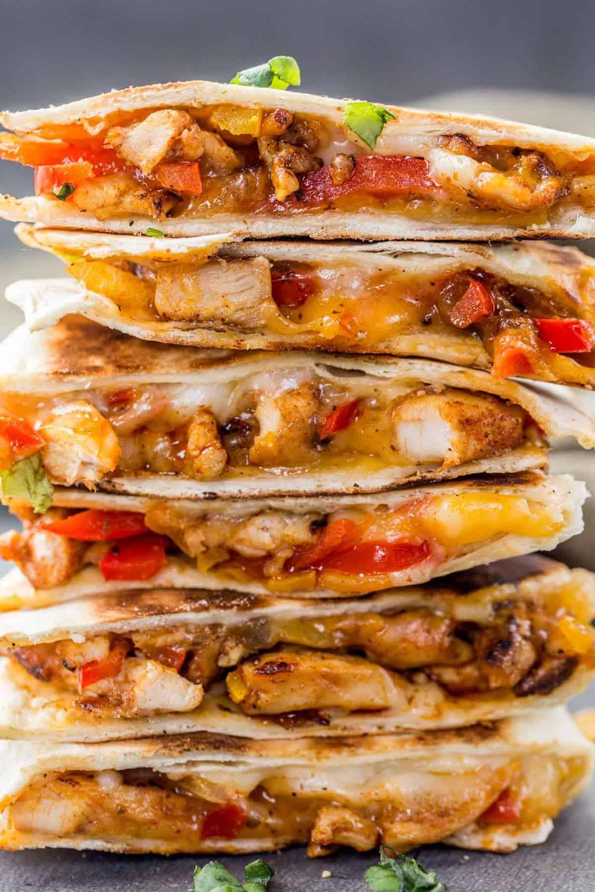 Chicken Fajita Quesadilla Recipe Valentina S Corner