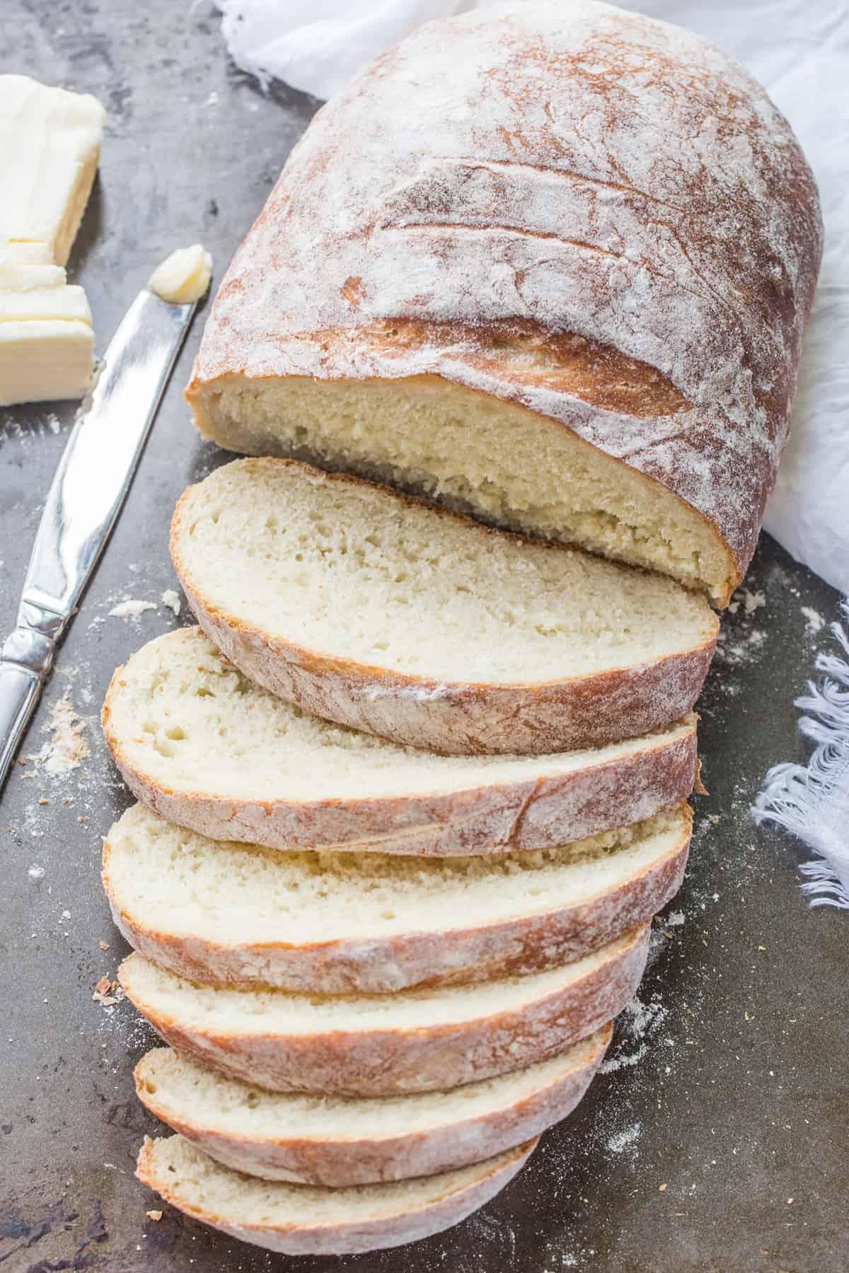 No Knead Bread Recipe - Valentina's Corner