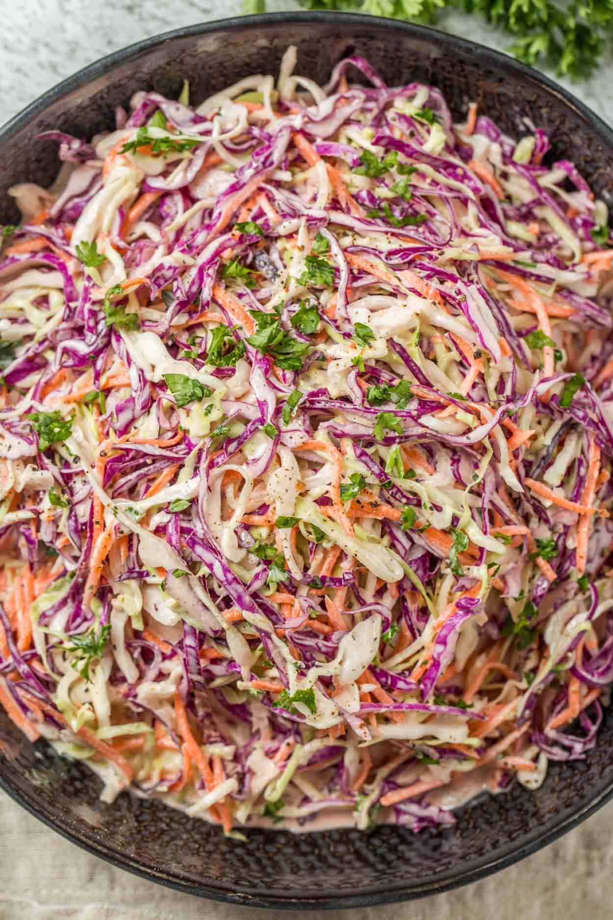 Coleslaw Recipe With Coleslaw Dressing Valentina S Corner